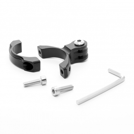 Metal bike mount for GoPro