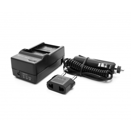 2 batteries wall charger for GoPro HERO3