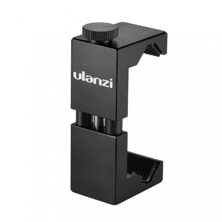 Metal phone holder for a tripod