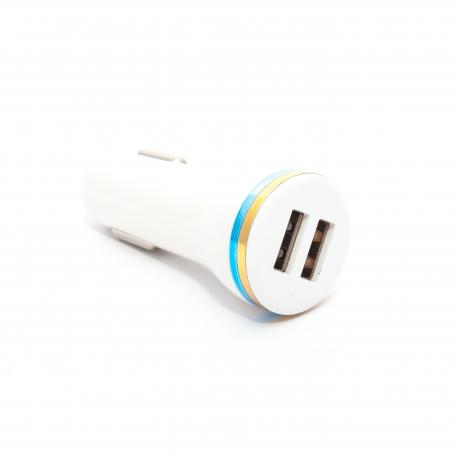 Автомобільна зарядка на 2 USB порта