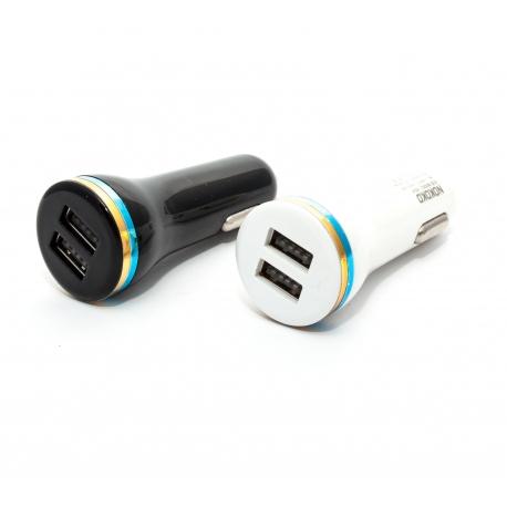 Автомобільна зарядка на 2 USB порта (загальний вигляд)