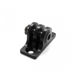 Aluminum mount for GoPro