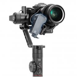 Zhiyun Crane 2 Servo Follow Focus (Mechanical), with a camera