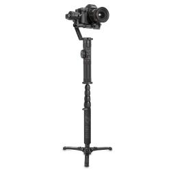 Телескопический монопод для Zhiyun Crane 2, с камерой