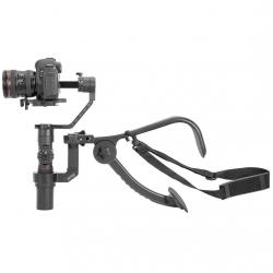 Zhiyun Crane 2 Shoulder Bracket, with a camera