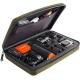 Кейс для экшн-камер большой SP POV GoPro-Edition Large, оилвковый в раскрытом виде