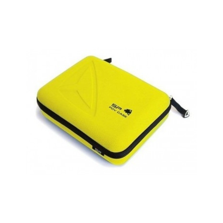 SP POV Case Small GoPro-Edition, yellow in the closed state