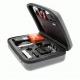 Кейс для екшн-камер маленький SP POV GoPro-Edition Small, сірий в розкритому вигляді