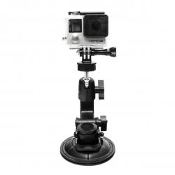 Крепление присоска на машину для GoPro (прикреплена GoPro HERO4)
