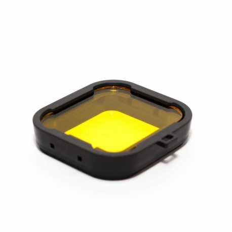 Yellow dive filter for GoPro HERO4