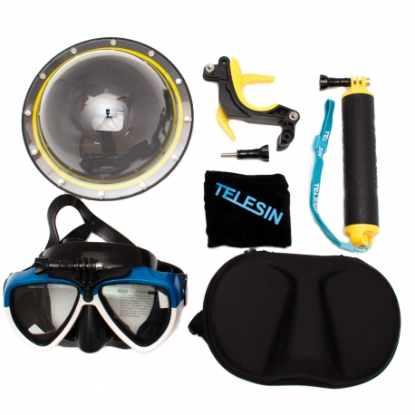 Diving and snorkeling kit for GoPro HERO6 and HERO5 Black
