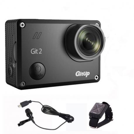 Экшн-камера GitUp Git2P Pro, с пультом и микрофоном