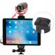 Алюминиевое регулируемое крепление для планшета на монопод Ulanzi, с планшетом и микрофоном