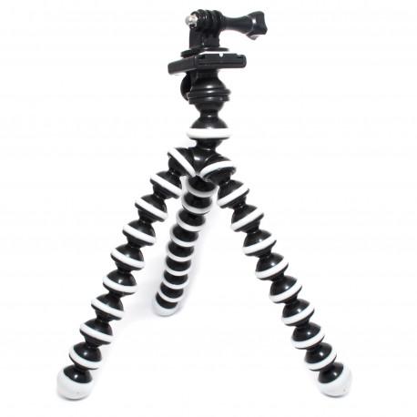 Гнучкий штатив - восьминіг (розмір M) для GoPro та компактних камер (загальний вигляд)