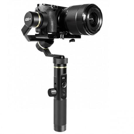 Стабилизатор для компактных камер FeiyuTech G6 PLUS, внешний вид с камерой