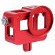 Алюминиевый корпус с дверцами для GoPro HERO5 и HERO6, красный
