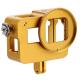 Алюминиевый корпус с дверцами для GoPro HERO5 и HERO6, золотой