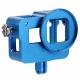 Алюминиевый корпус с дверцами для GoPro HERO5 и HERO6, голубой