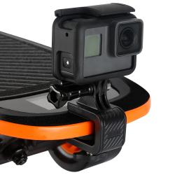 Крепление-клипса для GoPro на скейтборд