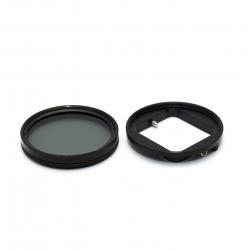 Комплект: CPL фільтр 52мм з перехідником для GoPro HERO 3+ та 4