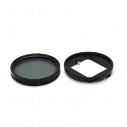 Комплект: CPL фильтр 52мм с переходником для GoPro HERO 3+ и 4 (набор)