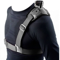 Shoulder belt for GoPro