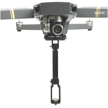 Крепление панорамной 360 VR камеры к DJI Mavic PRO, главный вид