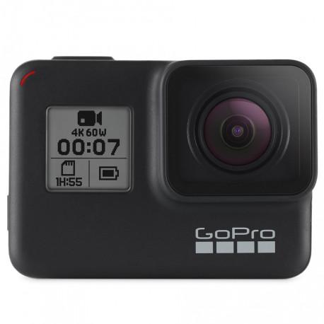 Экшн-камера GoPro HERO 7 Black, фронтальный вид