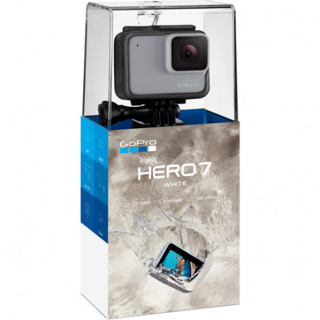 GoPro HERO7 White action camera, packaged