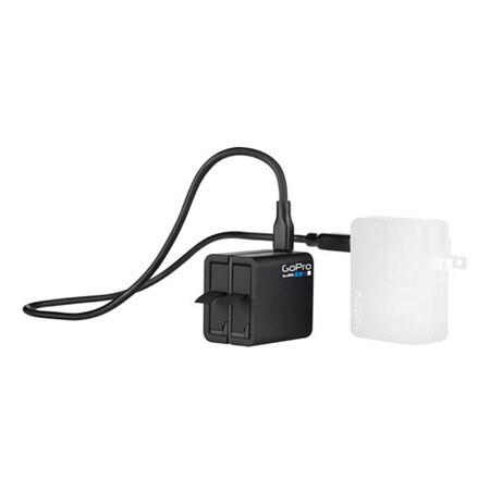 Зарядное устройство GoPro Dual Battery Charger с батареей для HERO4