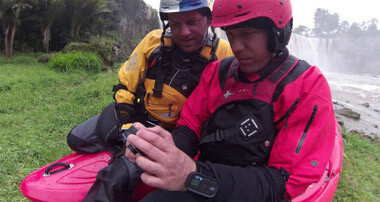 Пульт дистанционного управления GoPro Wi-Fi Remote во время сплава