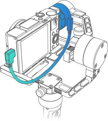 Поключение камеры к стабилизатору Crane Plus