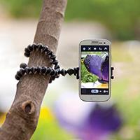 Гнучкий штатив - восьминіг (розмір S) для GoPro і телефону