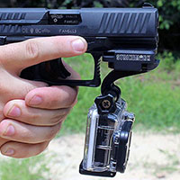 Gun rail mount for GoPro (center)