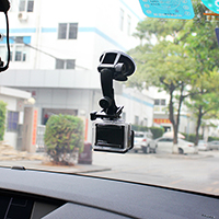 Windscreen suction cup mount for GoPro