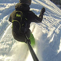 Рюкзак со штангой для GoPro