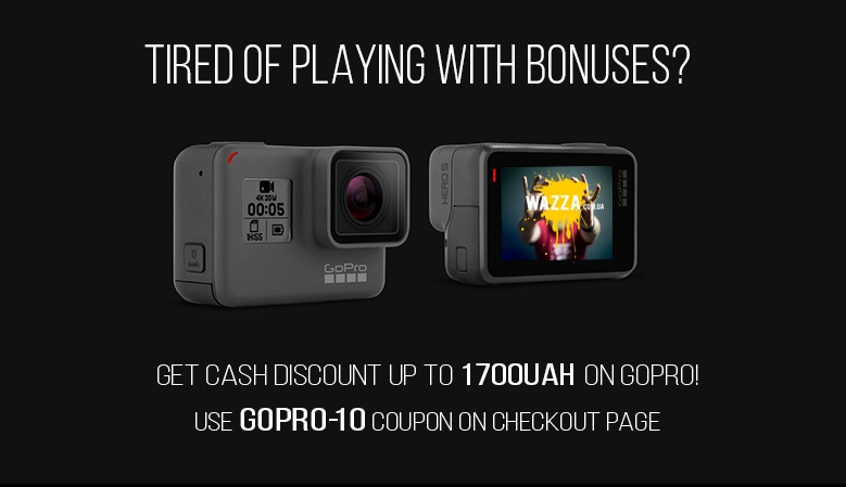 Get 10% discount on GoPro cameras