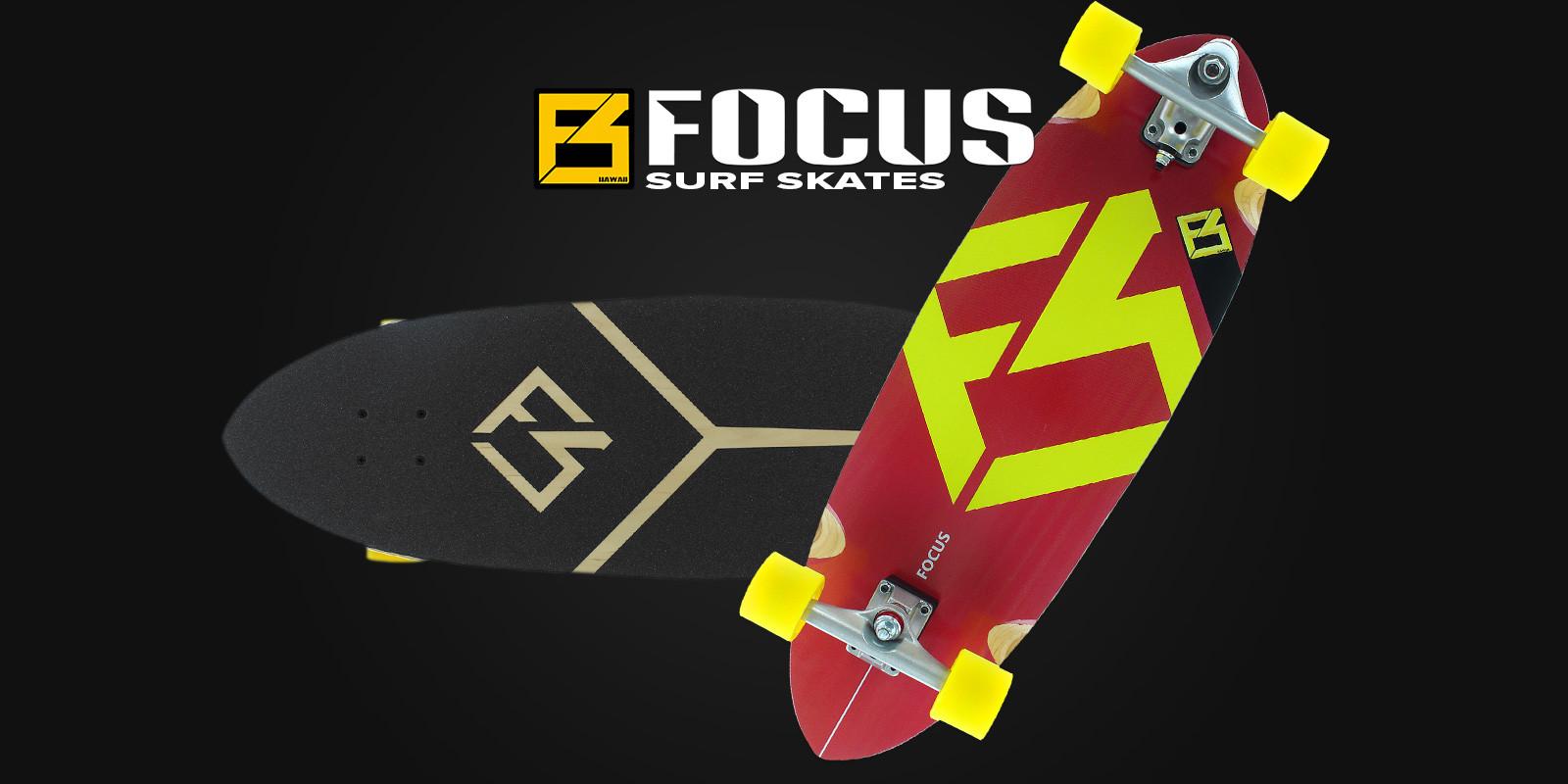FOCUS SUP Surf Skates
