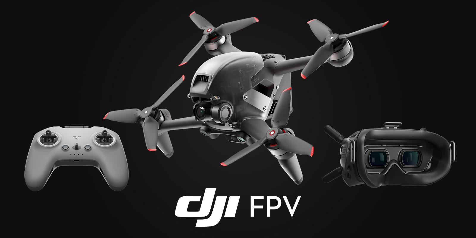 DJI FPV Combo racing drone